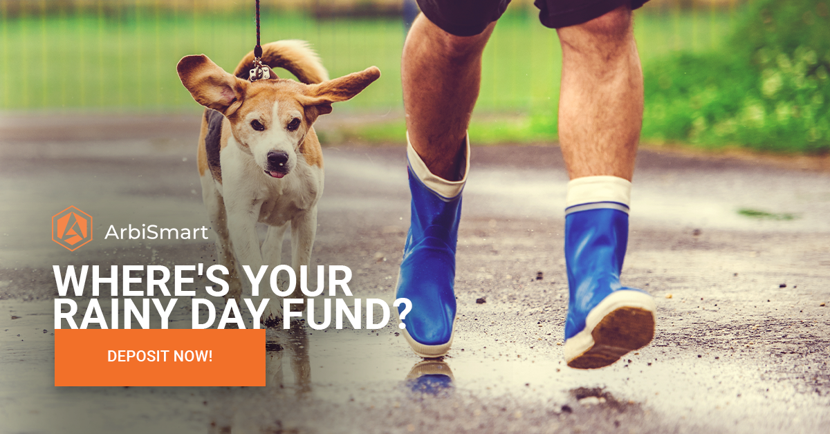 Where's your rainy day fund?