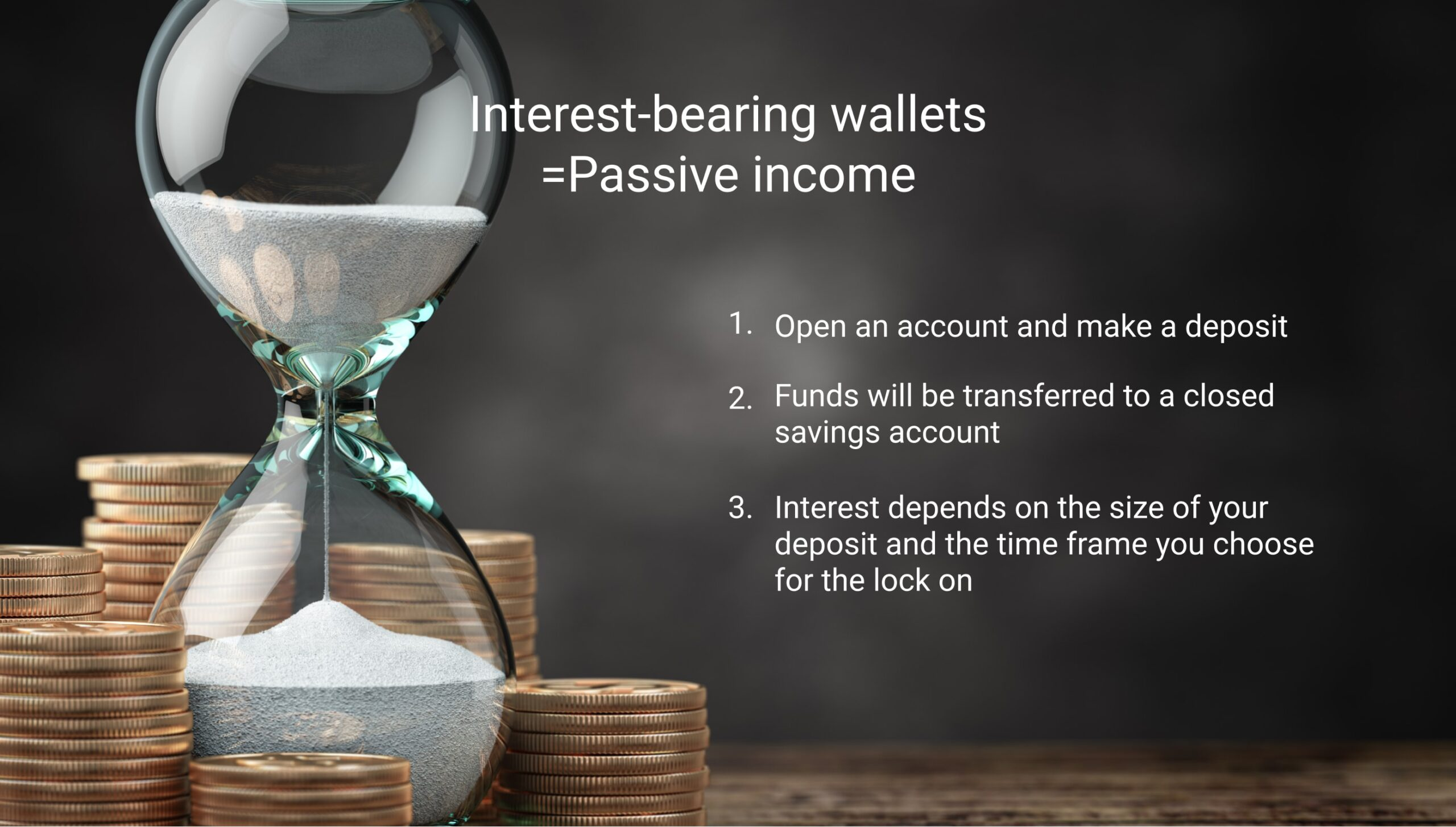 interest-bearing wallets in crypto trading