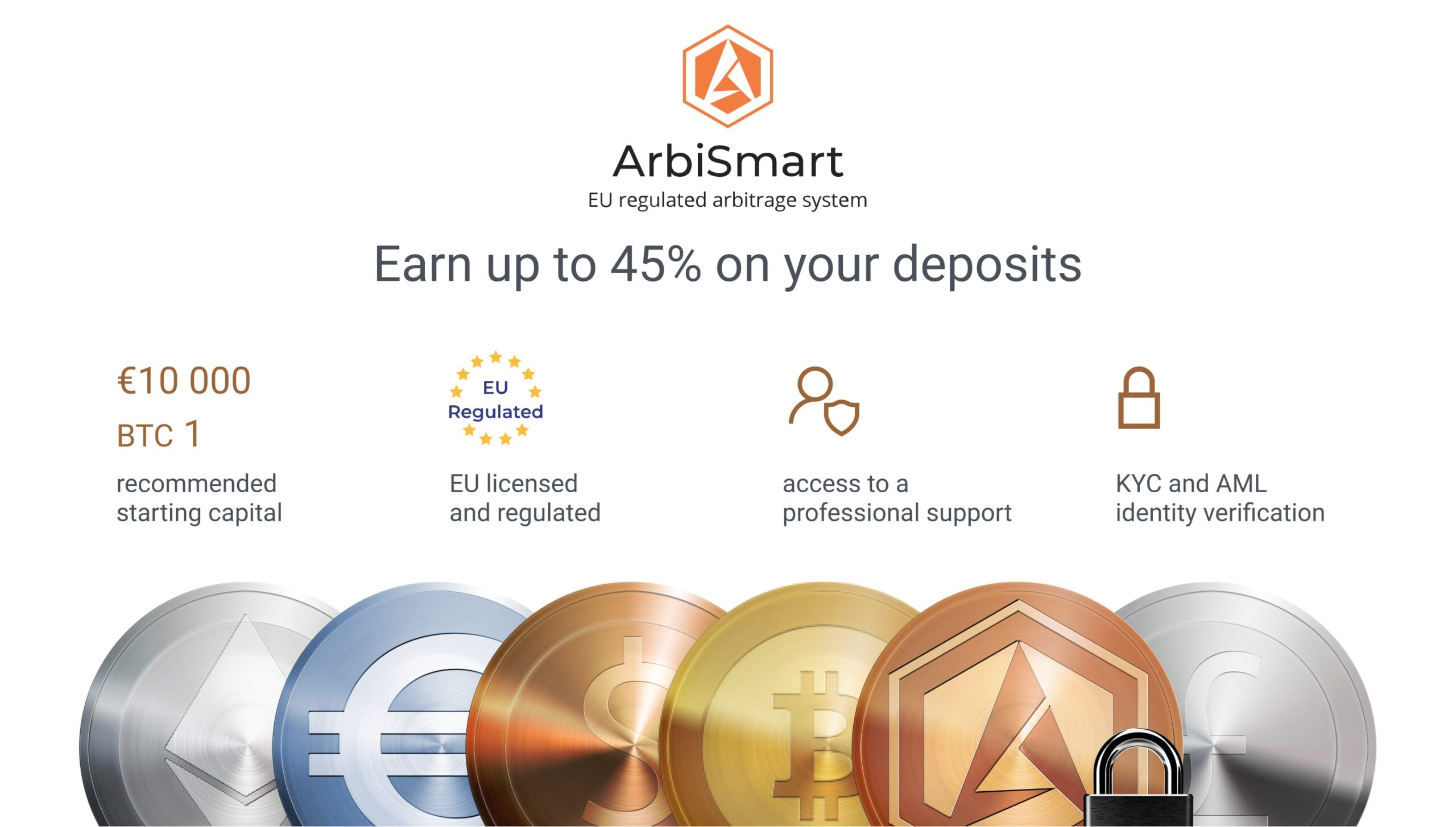 how to trade crypto with arbismart and earn money