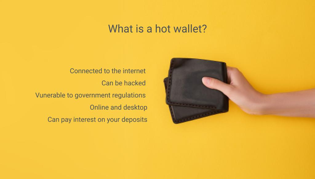 hot wallet in cryptocurrency