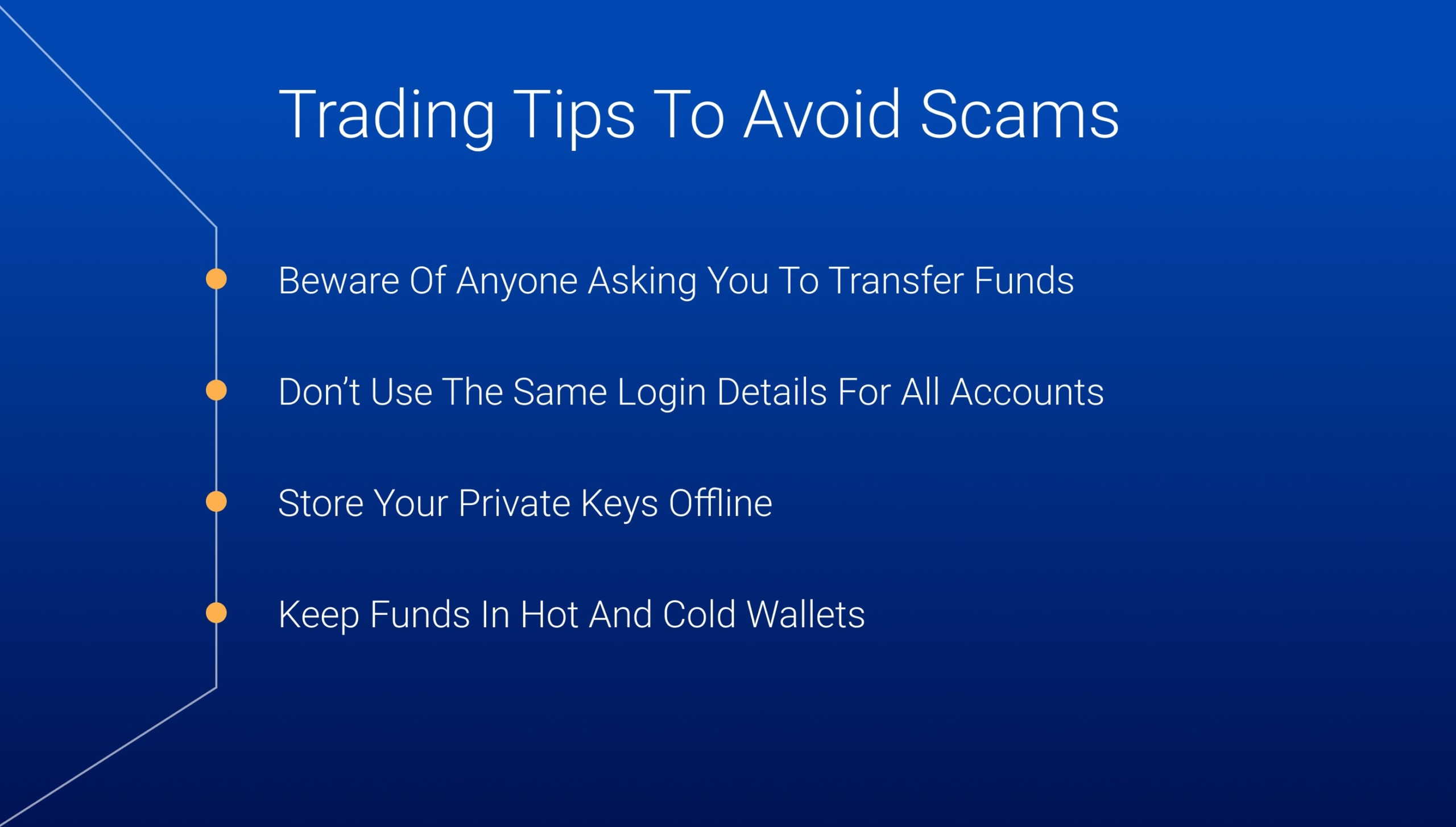 Trading tips to avoid scams in cryptocurrency