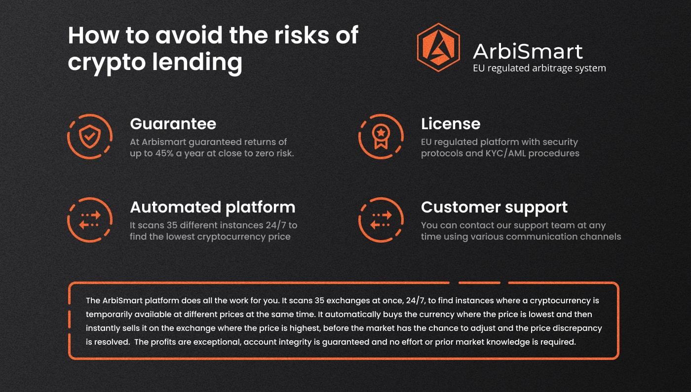 how to avoid the risks of crypto lending