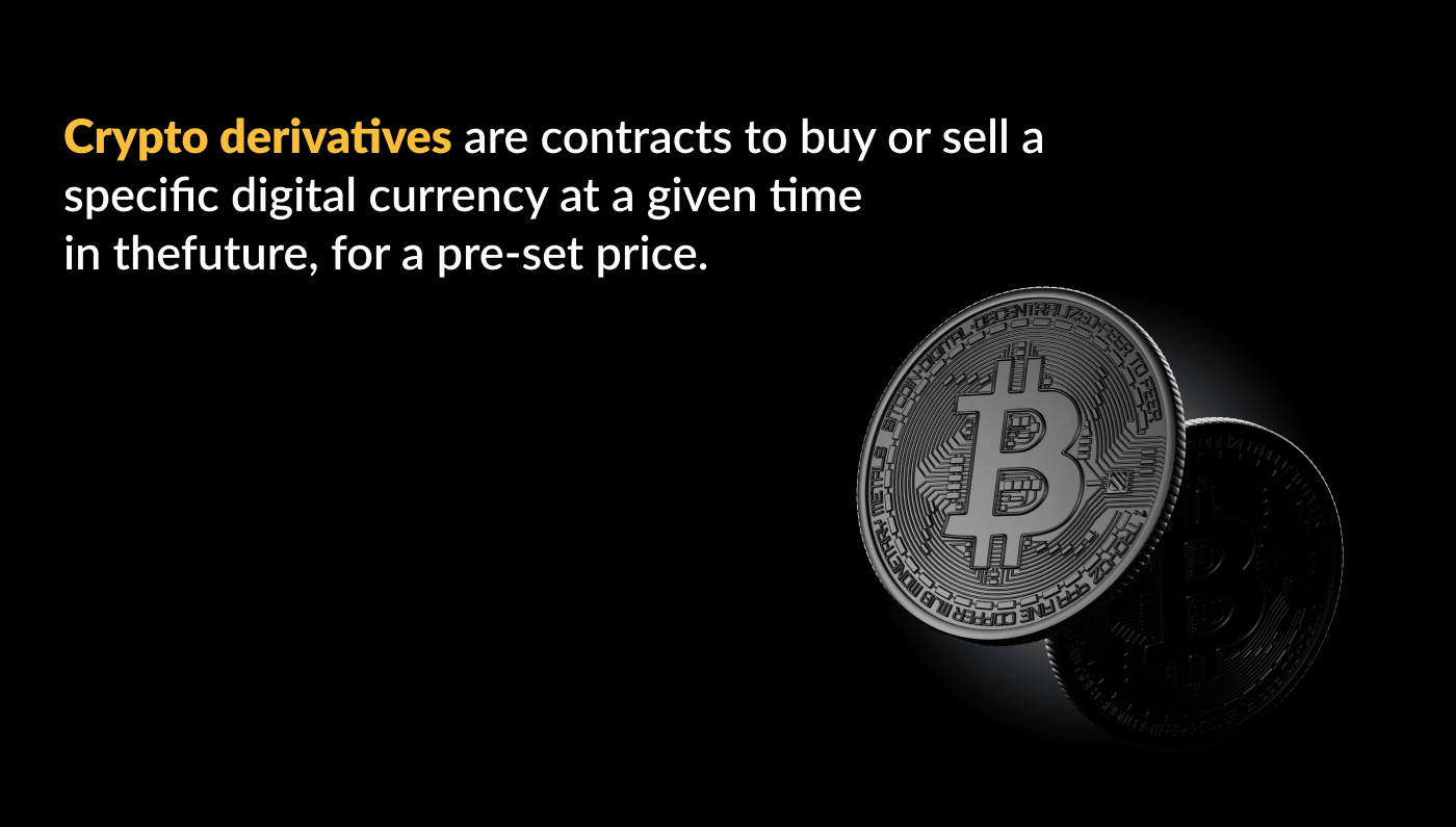 What are crypto derivatives