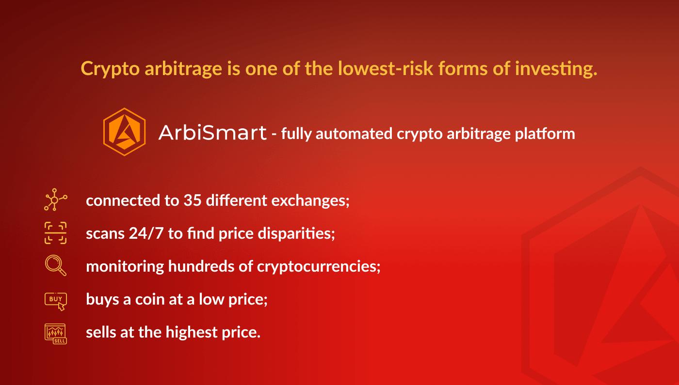 arbismart platform - arbitrage crypto online